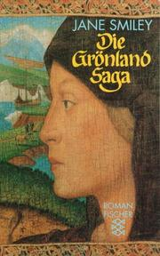 Cover of: Die Grönland- Saga. Roman