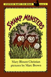 Cover of: Swamp monsters