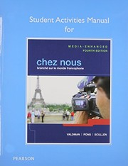 Cover of: Student Activities Manual for Chez nous