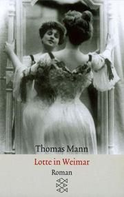 Cover of: Lotte In Weimar | T Mann