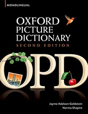 Cover of: Oxford Picture Dictionary | Jayme Adelson-Goldstein, Norma Shapiro