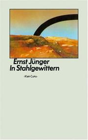Cover of: In Stahlgewittern