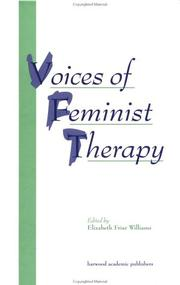 Voices of Feminist Therapy