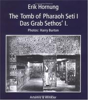 Cover of: The tomb of Pharaoh Seti I