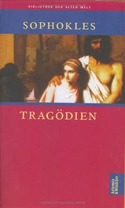 Cover of: Tragödien
