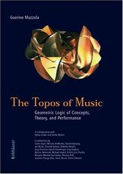 Cover of: The topos of music