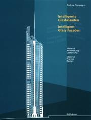 Cover of: Intelligent Glass Facades