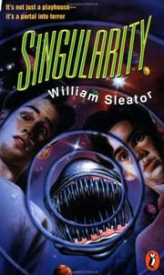 Cover of: Singularity