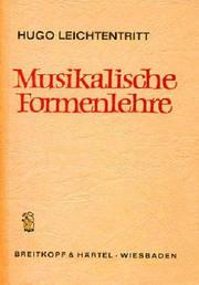 Cover of: Musikalische Formenlehre