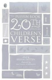 Cover of: The Puffin Bk of 20Th-Century Children's Verse