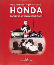 Cover of: Honda | Clauspeter Becker