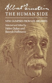 Cover of: Albert Einstein, the Human Side