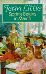 Cover of: Spring Begins in March