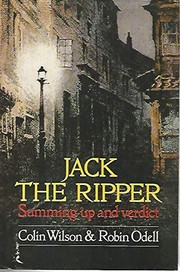 Cover of: Jack the Ripper | Colin Wilson