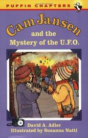 Cover of: Cam Jansen and the Mystery of the U.F.O. (Cam Jansen)