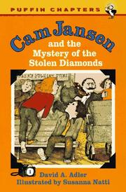 Cover of: Cam Jansen and the Mystery of the Stolen Diamonds (Cam Jansen)