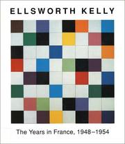 Cover of: Ellsworth Kelly
