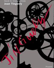 Cover of: Jean Tinguely