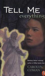 Cover of: Tell me everything