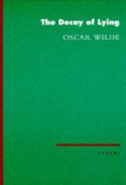 The decay of lying by Oscar Wilde
