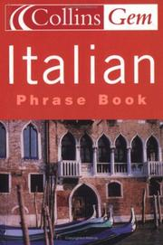 Cover of: Gem Italian Phrase Book (Collins GEM) | HarperCollins Publishers Limited