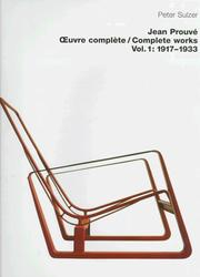 Cover of: Jean Prouvé