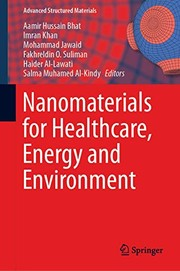 Cover of: Nanomaterials for Healthcare, Energy and Environment