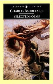 Cover of: Selected poems [of] Baudelaire