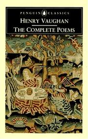 Cover of: complete poems | Vaughan, Henry