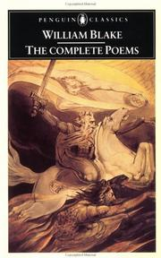 Cover of: The Complete Poems (Penguin Classics) | William Blake