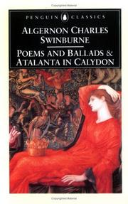 Cover of: Poems and ballads [and] Atalanta in Calydon