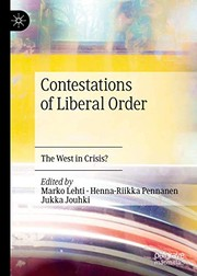 Cover of: Contestations of Liberal Order