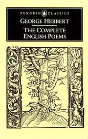 Cover of: The complete English poems