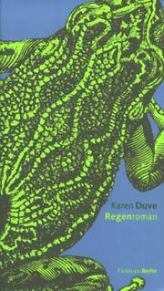 Cover of: Regenroman