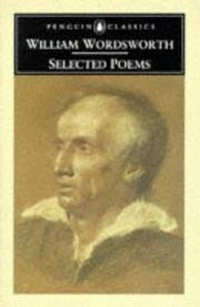 Cover of: Selected poems by William Wordsworth
