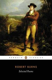 Cover of: Selected Poems (Penguin Classics) | Robert Burns