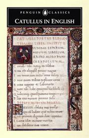 Cover of: Catullus in English