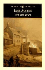 Cover of: Persuasion | Jane Austen