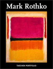Cover of: Mark Rothko (Portfolio)