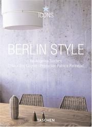 Cover of: Berlin Style (Icons) | Christiane Reiter