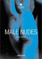 Cover of: Male Nudes (Icons)