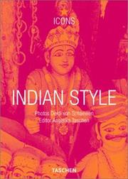 Cover of: Indian Style (TASCHEN Icons Series) |