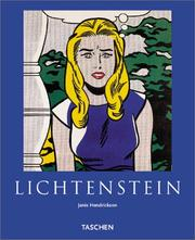 Cover of: Lichtenstein