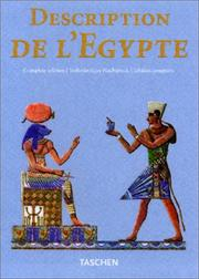 Cover of: Description de l'Egypte