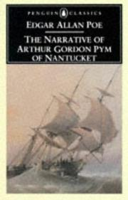 Cover of: Narrative of Arthur Gordon Pym