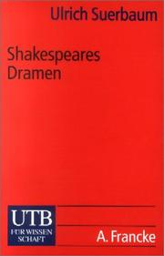 Cover of: Shakespeares Dramen