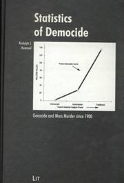 Cover of: Statistics of Democide | R. Rummel