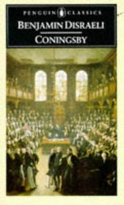 Cover of: Coningsby by Benjamin Disraeli, Thom Braun