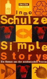 Simple Storys by Ingo Schulze
