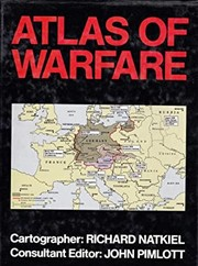 Cover of: Atlas of warfare | Richard Natkiel